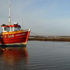 Whitby crest brancaster staithe harbour