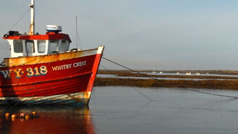 Whitby crest brancaster staithe harbour