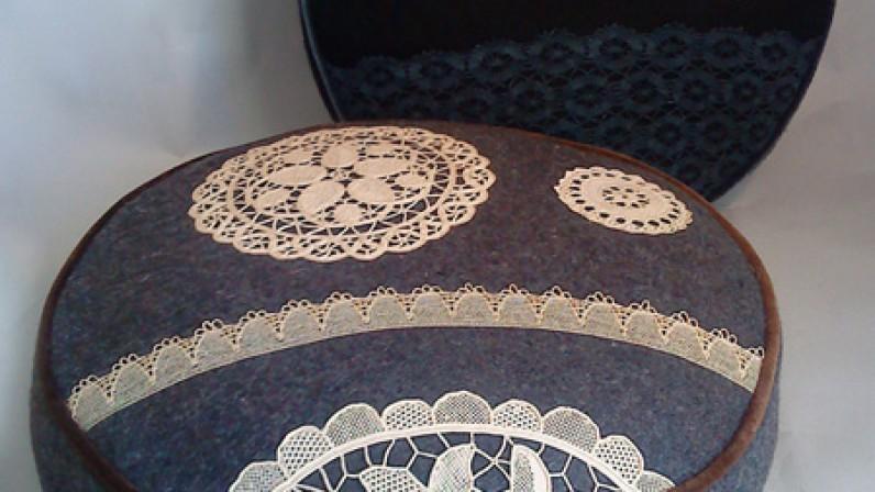 Blue Jacket Workshop Cushion
