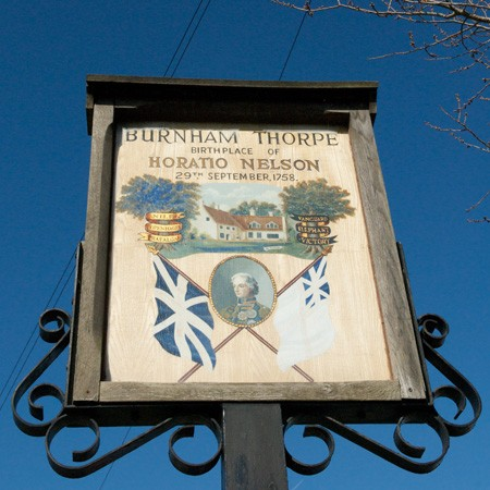 Burnham Thorpe village sign