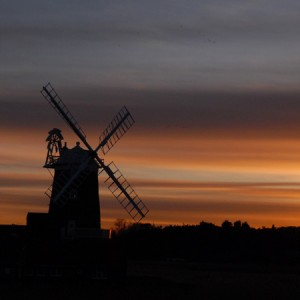 Cley Mill at Sunset