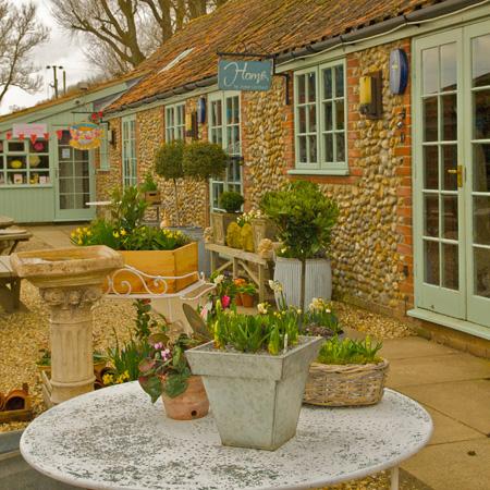 creake abbey courtyard shops