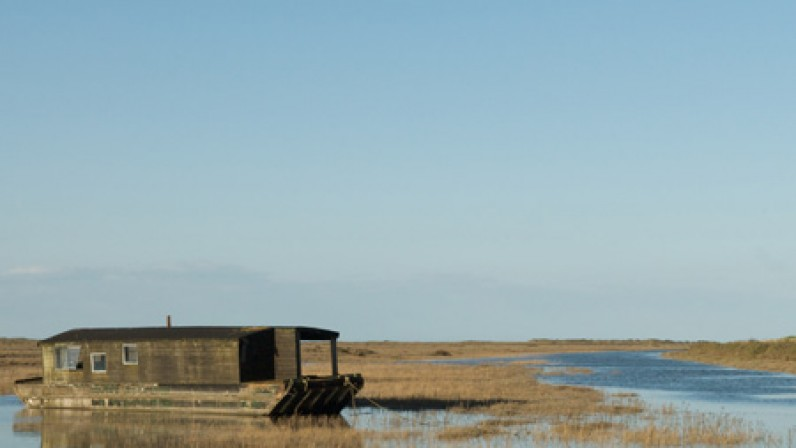 harry house boat n burnham deepdale marsh