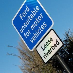 Glandford Ford Sign