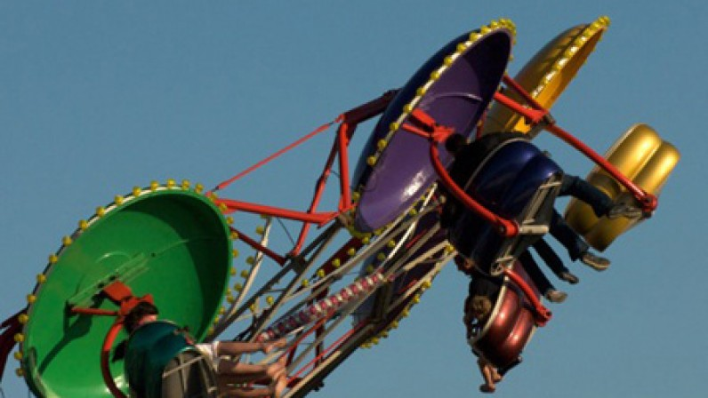 Funfair in Hunstanton