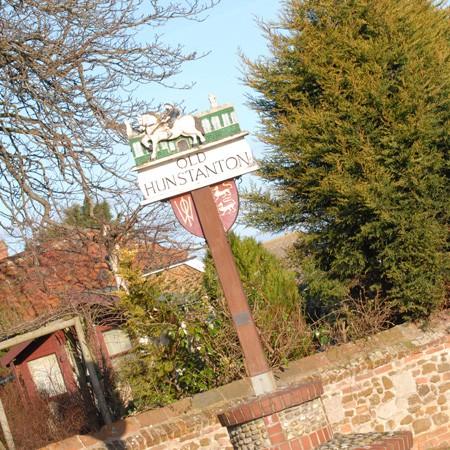 Old Hunstanton Village Sign