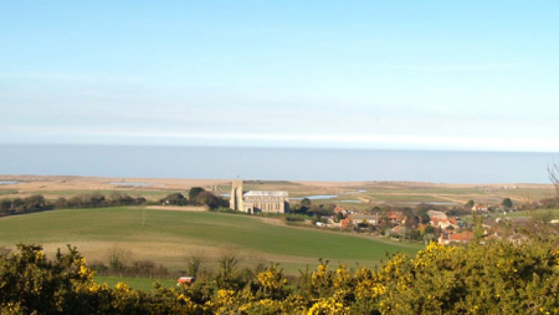 The View over salthouse