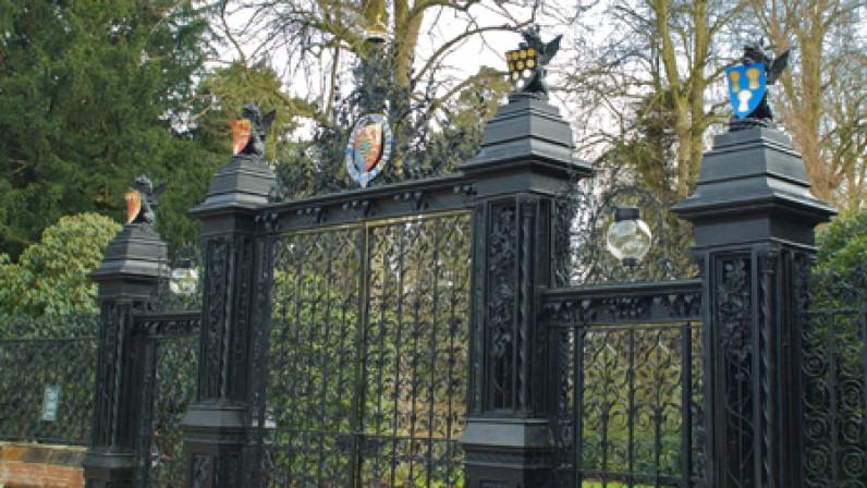 Sandringham Park Gates