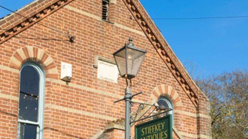 Stiffkey Antiques store