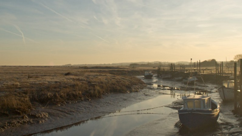 Creeks at Thornham Harbour