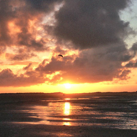 Sunset on Titchwell Beach