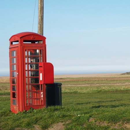 Salthouse Telephone box