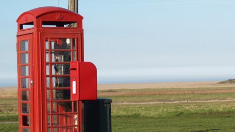 Salthouse Telephone box